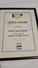 South Coast Tourism Award